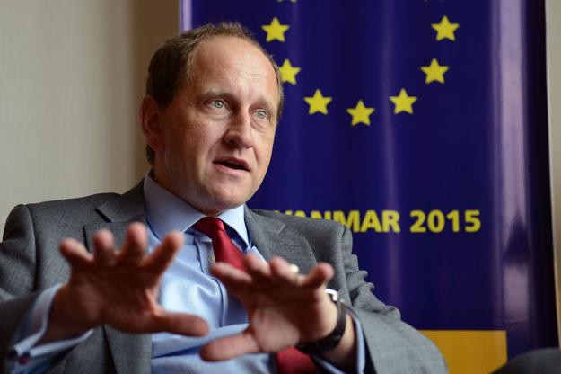 """Alexander hrabia Lambsdorff: """"Unię Europejską bez Wielkiej Brytanii mieliśmy na samym początku"""" /AFP"""