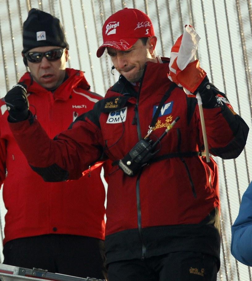 Alexander Pointner nie jest już trenerem austriackich skoczków /AFP