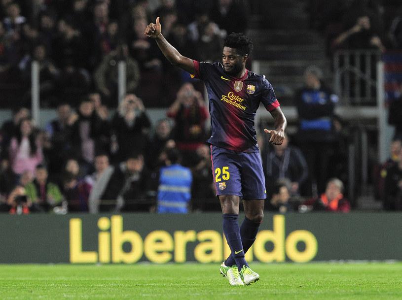 Alexander Song musi udowodnić swą przydatność do Barcelony. /AFP