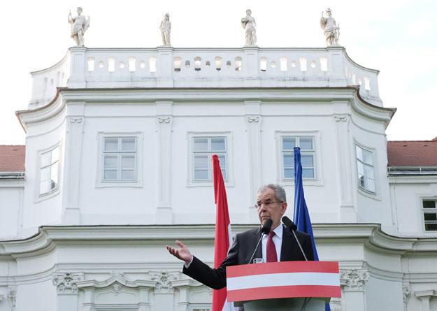 """Alexander Van der Bellen: """"Jedna połowa społeczeństwa jest równie ważna jak druga"""". /AFP"""