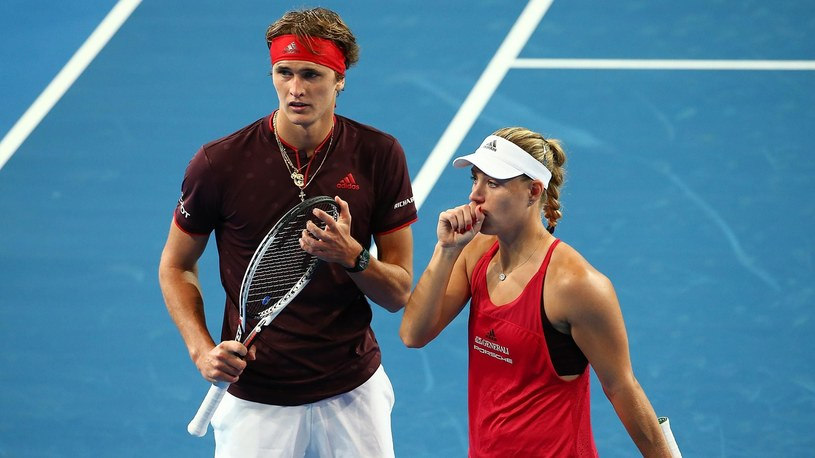 Alexander Zverev i Angelique Kerber /Getty Images