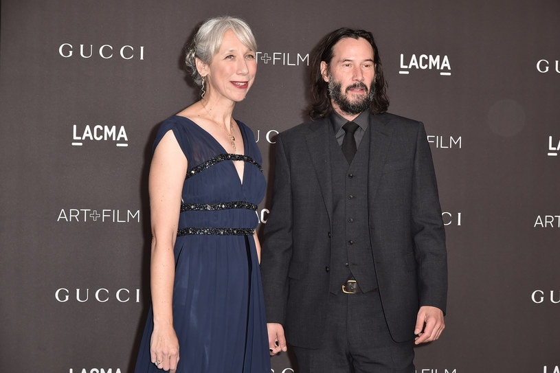 Alexandra Grant i Keanu Reeves są parą! /David Crotty /Getty Images