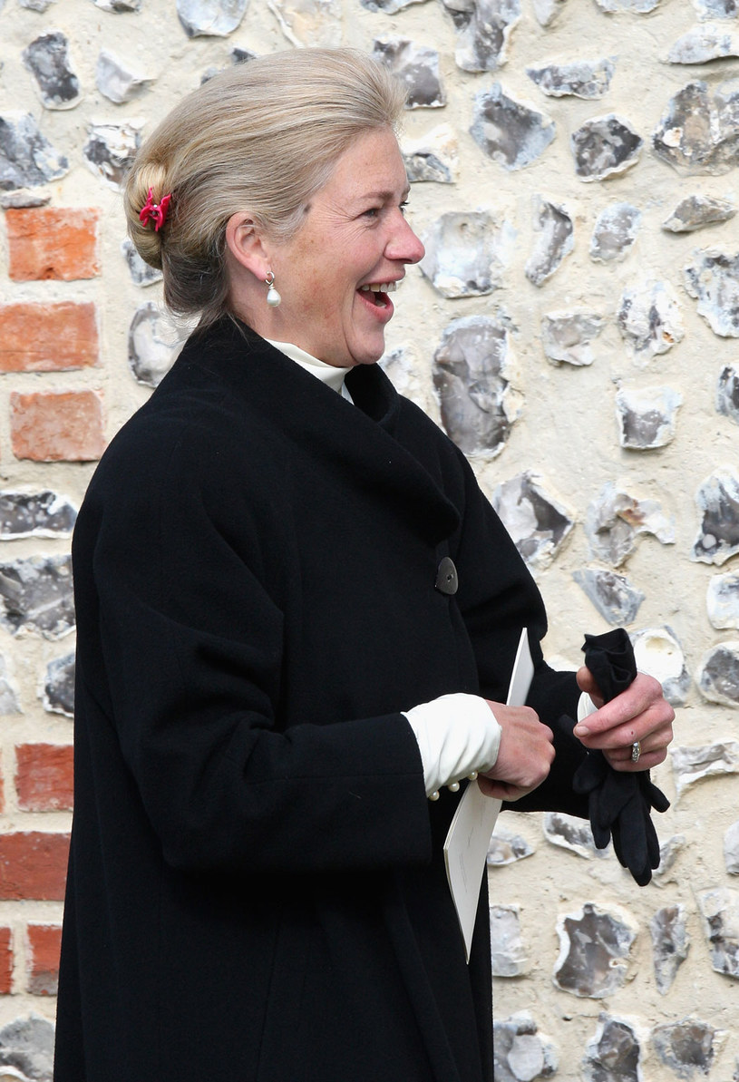 Alexandra Shan Legge- Bourke - opiekunka księcia Williama i Harry`ego /Getty Images/Flash Press Media