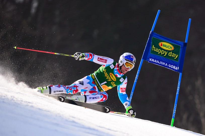 Alexis Pinturault w Kranjskiej Górze. /AFP