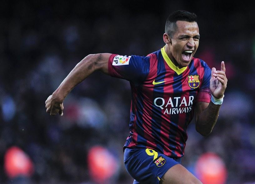 Alexis Sanchez był bohaterem meczu z Elche /AFP