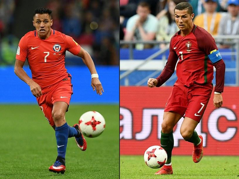 Alexis Sanchez i Cristiano Ronaldo /AFP