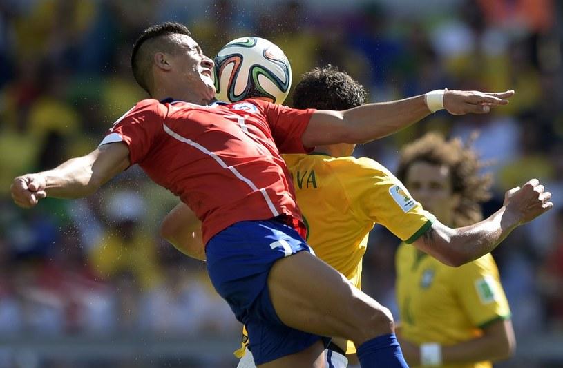 Alexis Sanchez i Thiago Silva /AFP