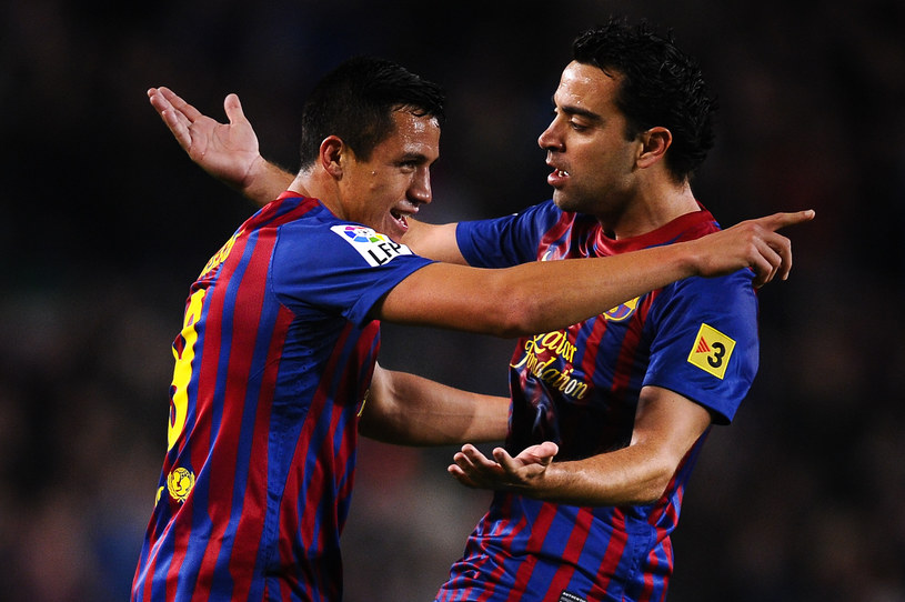 Alexis Sanchez i Xavi Hernandez /David Ramos /Getty Images