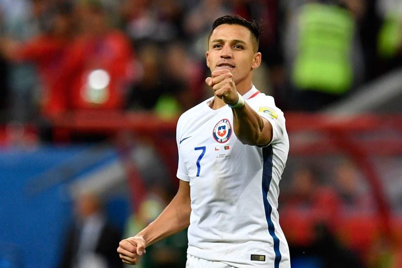 Alexis Sanchez podczas Pucharu Konfederacji /AFP