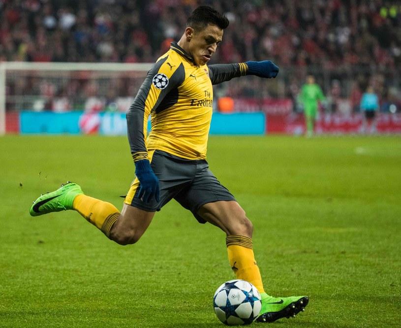 Alexis Sanchez w barwach Arsenalu Londyn /AFP