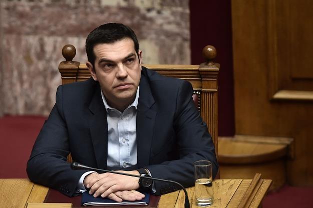 Alexis Tsipras, premier rządu Grecji /AFP