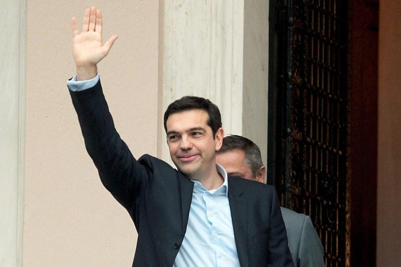 Alexis Tsipras /PAP/EPA