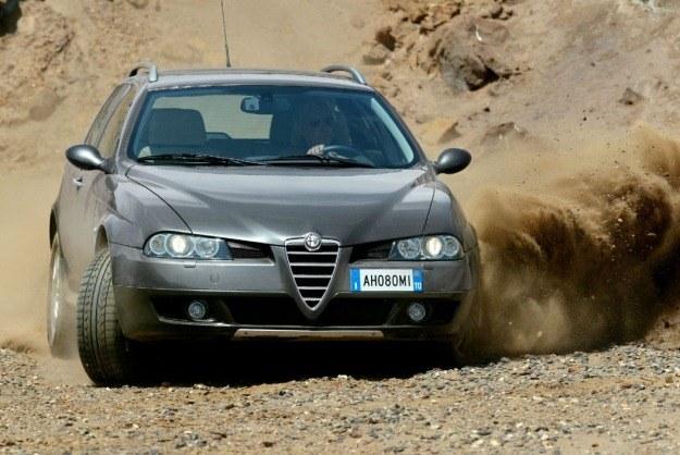 """Alfa crosswagon /tygodnik """"Motor"""""""