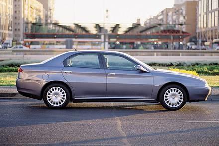 Alfa romeo 166 / Kliknij /INTERIA.PL