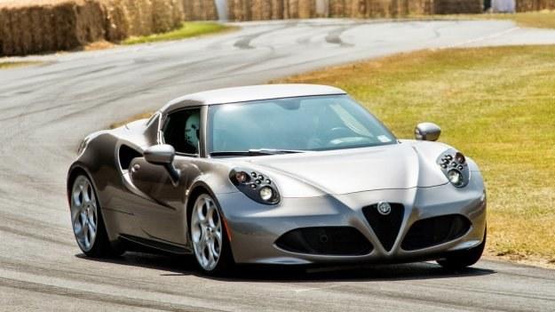 Alfa Romeo 4C podczas tegorocznego Festiwalu Prędkości w Goodwood /Alfa Romeo