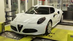 Alfa Romeo 4C - ręczna robota
