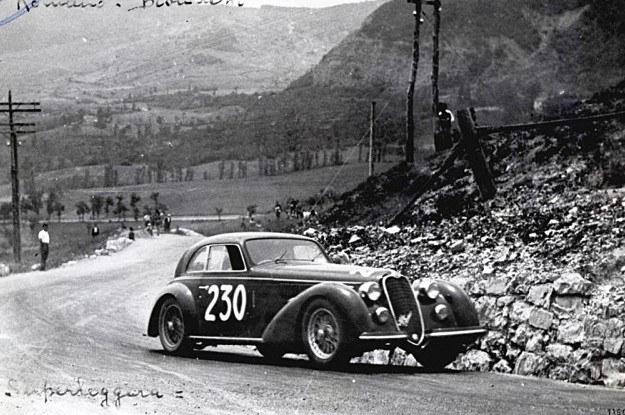 Alfa romeo 8C 2900 B lungo z 1938 roku /