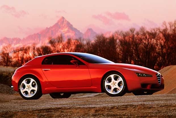 Alfa Romeo Brera (kliknij) /INTERIA.PL
