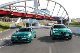 Alfa Romeo Giulia i Stelvio Quadrifoglio MY20