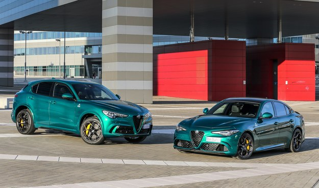 Alfa Romeo Stelvio i Giulia Quadrifoglio MY20 /