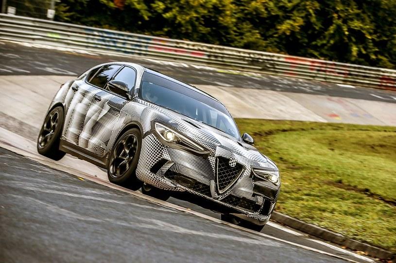 Alfa Romeo Stelvio Quadrifoglio na Nordschleife /