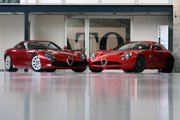 Alfa romeo TZ3 stradale i corsa (po prawej) /