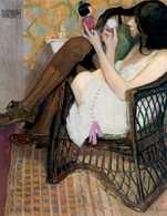 Alfons Karpiński, Jane z japońską laleczką, 1909 /Encyklopedia Internautica