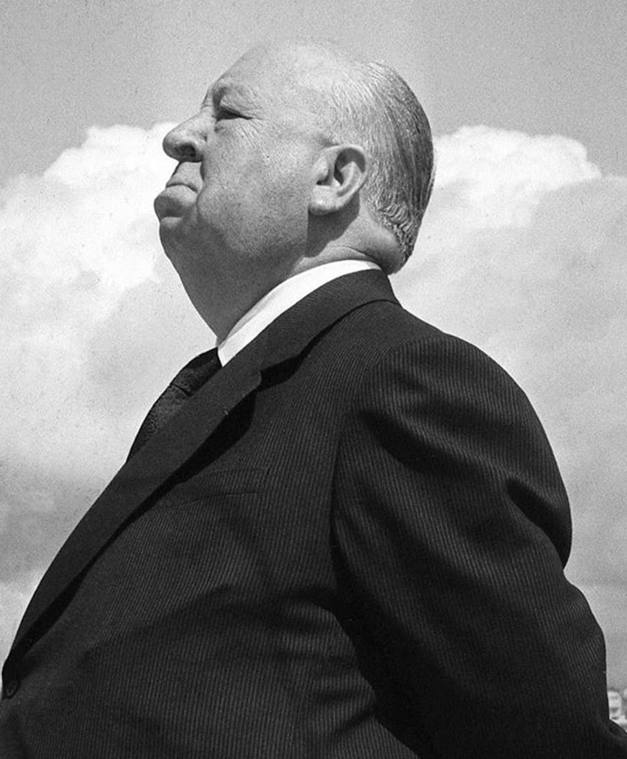 Alfred Hitchcock /PAP/EPA (RALPH GATTI) /PAP/EPA