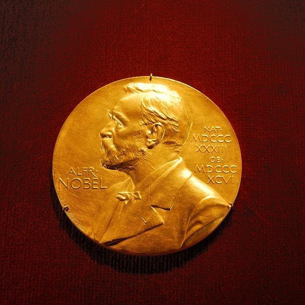Alfred Nobel na okolicznościowym medalu /©123RF/PICSEL