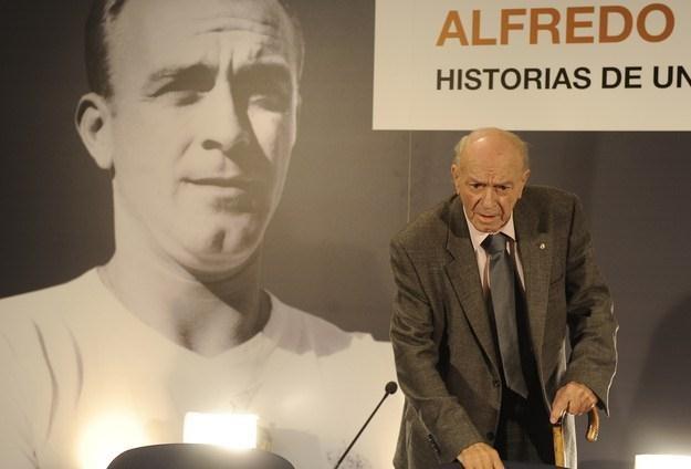 Alfredo Di Stefano /AFP