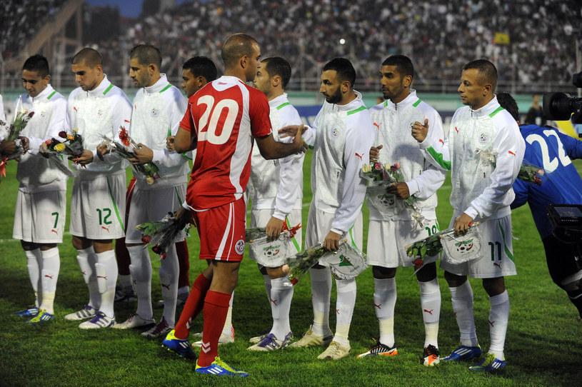 Algierczycy marzą o wyjeździe do Brazylii /AFP