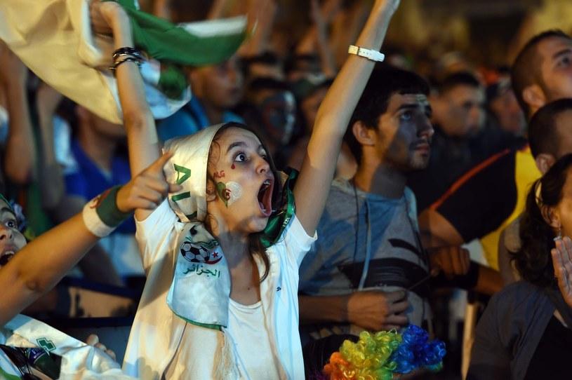 Algierczycy szaleją z radości /AFP