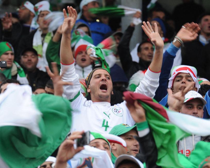 Algierscy kibice świętują awans /AFP