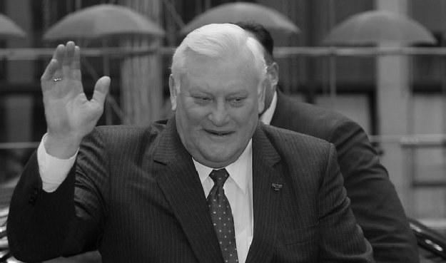 Algirdas Brazauskas zmarł w wieku 77 lat /AFP
