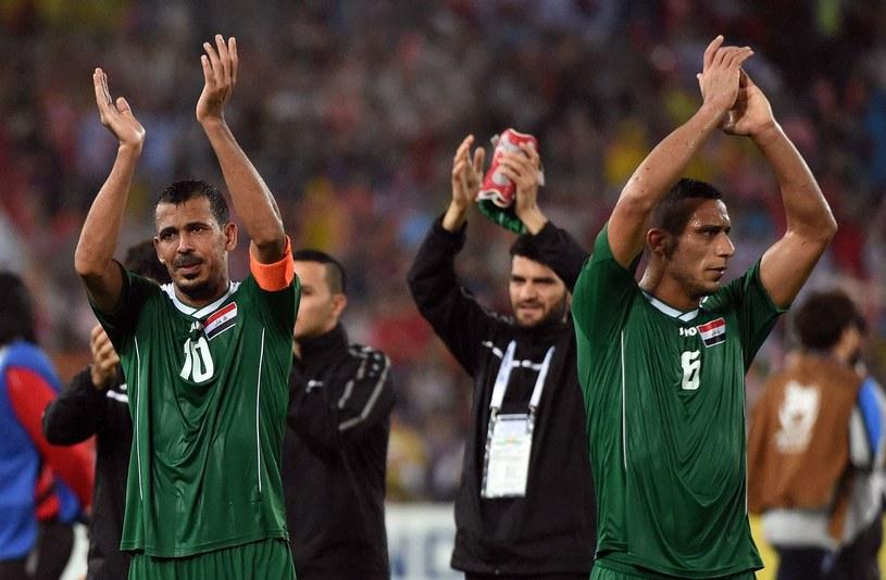Ali Adnan Kadhim (z prawej) /SAEED KHAN /AFP