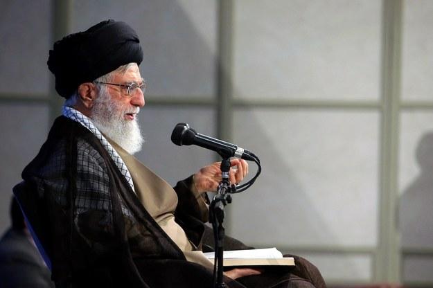 Ali Chamenei /LEADER OFFICIAL WEBSITE HANDOUT /PAP/EPA