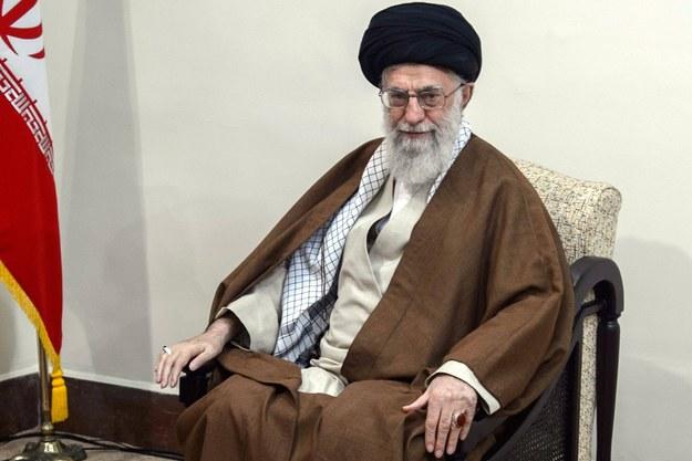 Ali Chamenei /DMITRY AZAROV / SPUTNIK / KREMLIN POOL /PAP/EPA