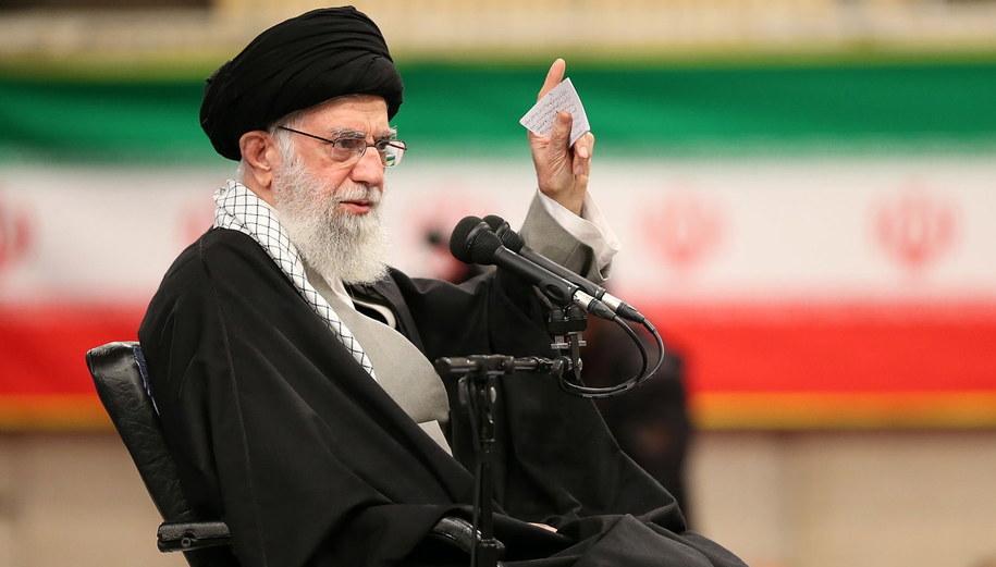 Ali Chamenei /Supreme Leader Office /PAP/EPA