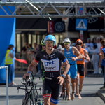 Aliaksandr Wasiljewicz i Agnieszka Jerzyk wygrali triathlonowe zawody Enea 5150 Warsaw