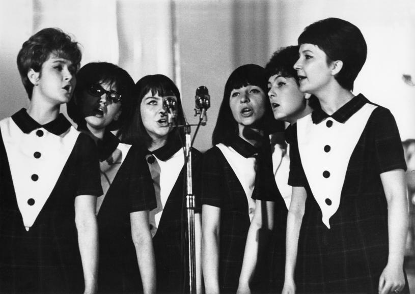Alibabki na Krajowym Festiwalu Polskiej Piosenki w Opolu w 1965 r. /Janusz Sobolewski /Agencja FORUM
