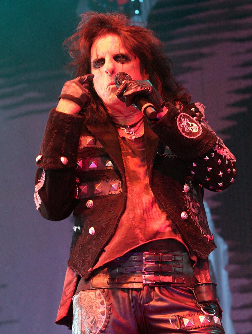 Alice Cooper - to stylówa, na której może opierać się każdy metal /Getty Images/Flash Press Media