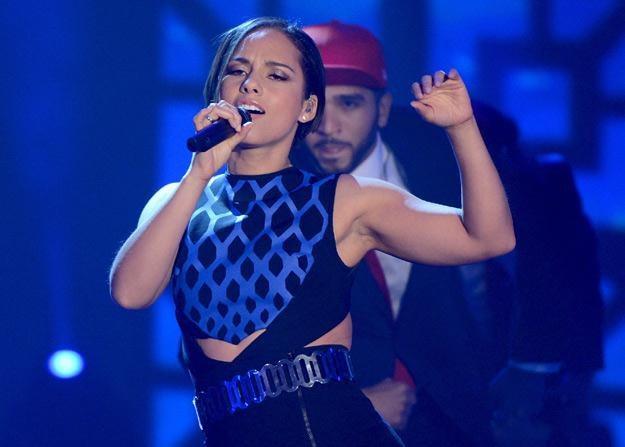 Alicia Keys musi zadowolić się nowością na 3. miejscu światowej listy /Getty Images/Flash Press Media