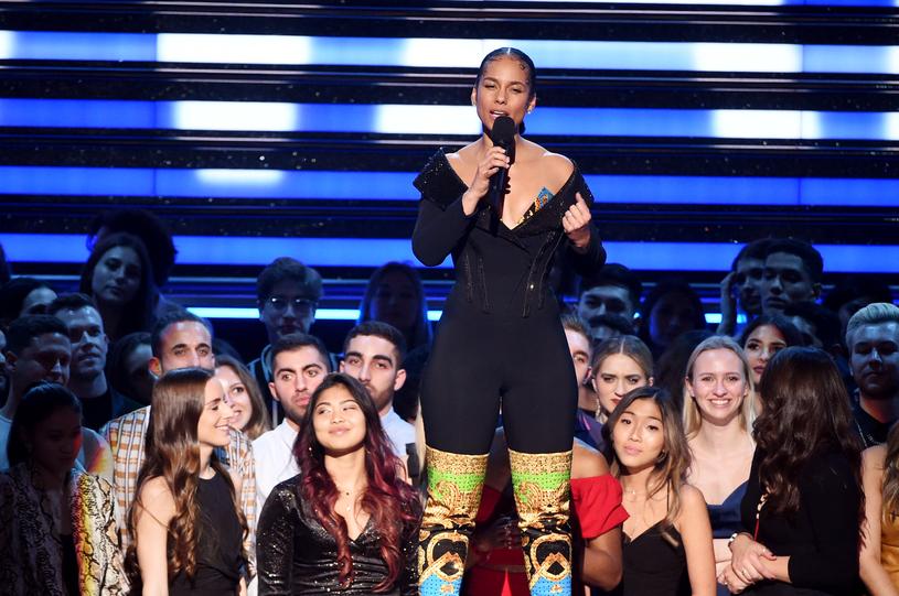 Alicia Keys upamiętniła Kobe Bryanta /Kevin Winter /Getty Images