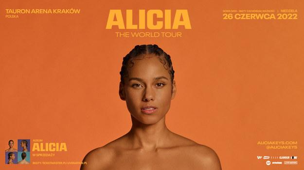 Alicia Keys  w Krakowie, 26 czerwca zagra w TAURON Arenie /Materiały prasowe