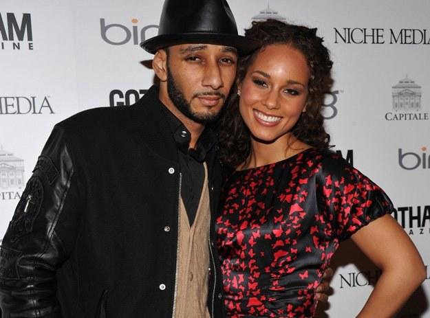 Alicia Keys z narzeczonym - fot. Bryan Bedder /Getty Images/Flash Press Media
