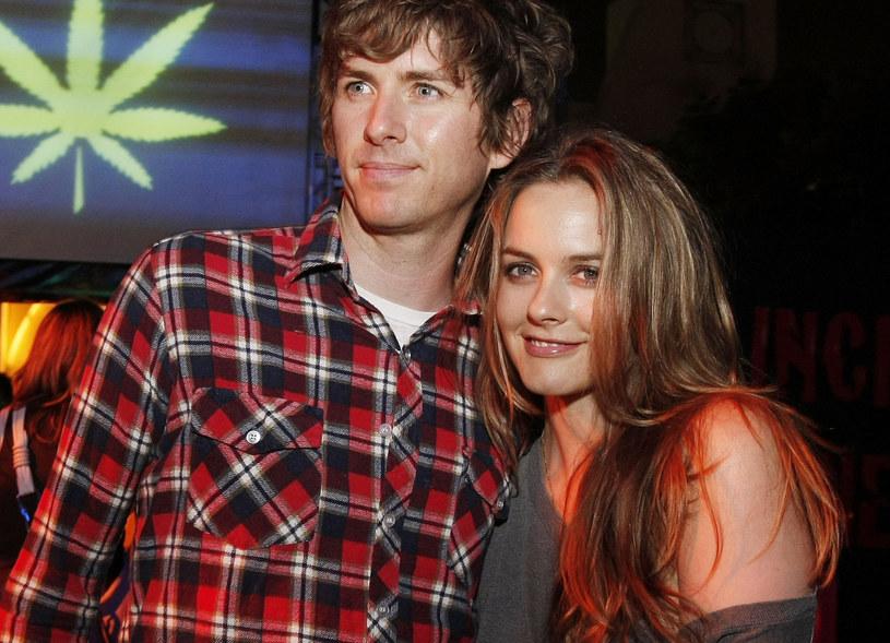 Alicia Silverstone z mężem /Kevin Winter /Getty Images