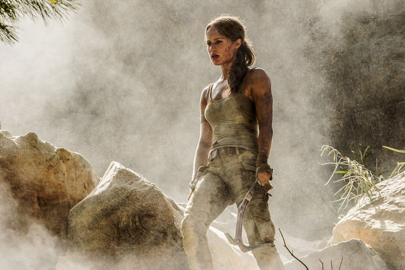 Alicia Vikander jako Lara Croft /LFI/Avalon.red/REPORTER /Reporter