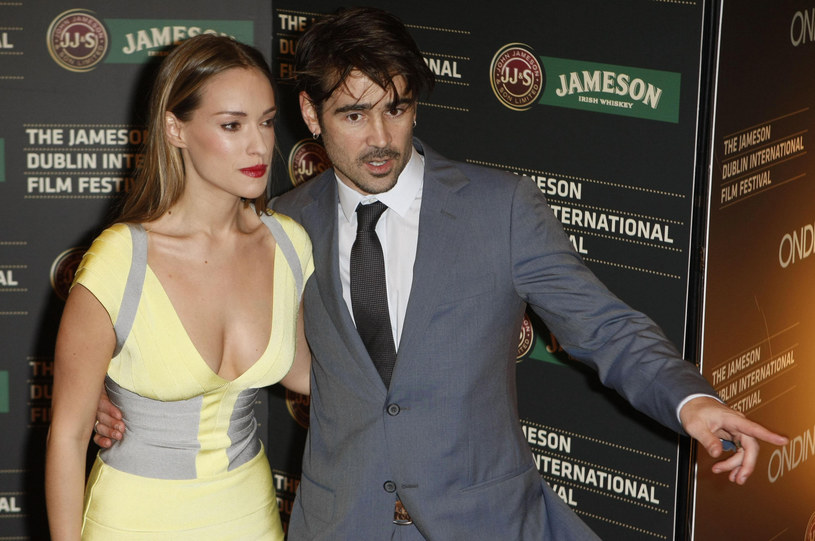 Alicja Bachleda-Curuś, Colin Farrell /Niall Carson/PA Images /Getty Images