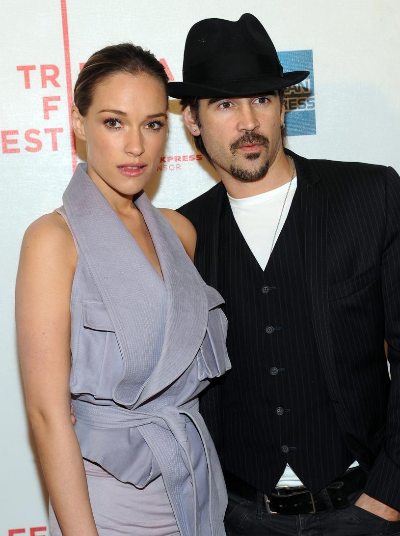 Alicja Bachleda-Curuś i Colin Farrell, 2010 r. /East News