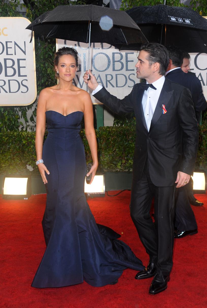 Alicja Bachleda-Curuś i Colin Farrell, 2010 rok / Jason Merritt /Getty Images